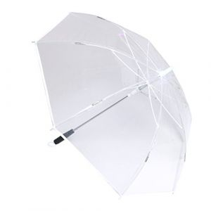 Transparenter LED Regenschirm
