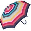 Damen Schwarz Weiß Spitze Bedruckt Regenschirm Durchsichtig PVC Wandern Stylisch