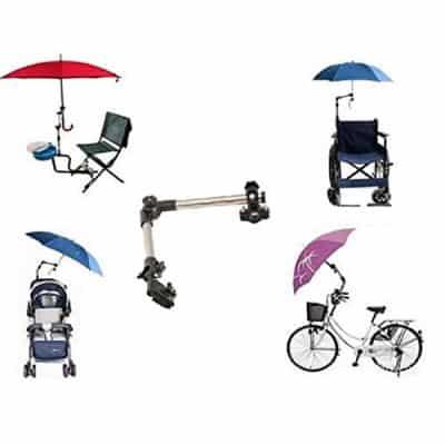 Regenschirmhalterungen