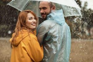 transparente Regenschirme